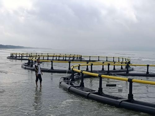 63米圆形深水网箱