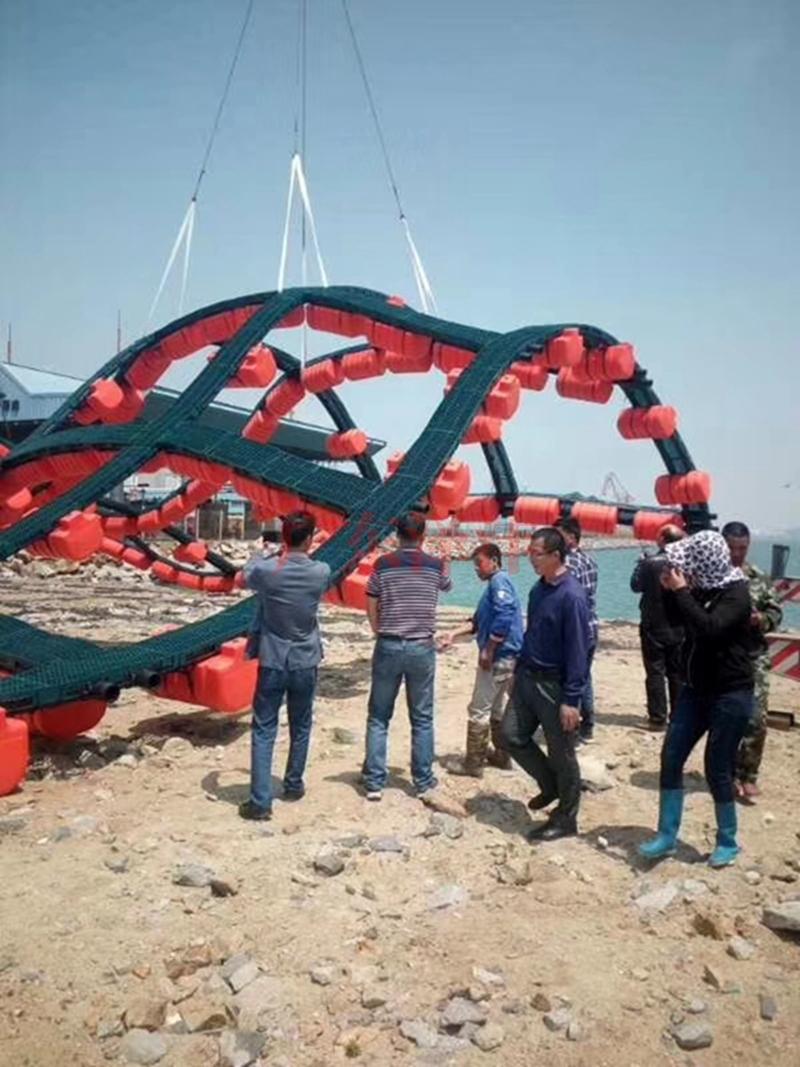 双管式塑料渔排2