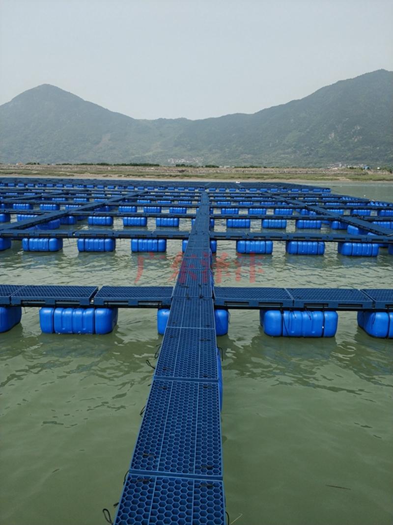 塑料渔排双管式