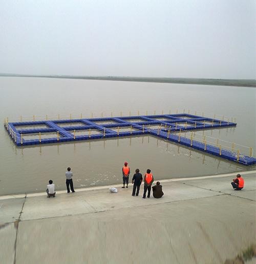 浮筒塑料平台、网箱2