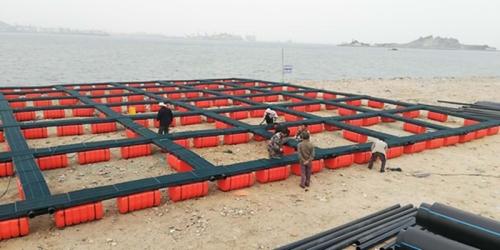 双管式塑料渔排1