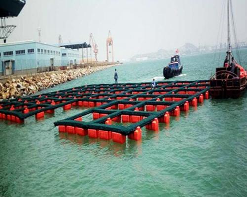双管式塑料渔排3